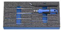PREMIUM-Modul Entgratungsset 300x150x30 mm, 8-teilig - toolster.ch