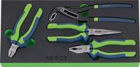 NERIOX Modul Zangen-Set 188 x 395 x 30 mm, 4-teilig - toolster.ch