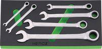 NERIOX Modul Ringmaul-Ratschenschlüssel 188 x 395 x 30 mm, 6-teilig - toolster.ch