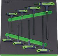 NERIOX Modul 6-kant Schraubenzieherset Mit Seitenantrieb 376 x 395 x 30 mm, 8-teilig - toolster.ch