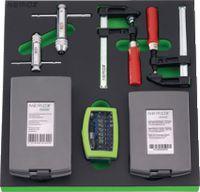 NERIOX Modul Zerspanungsset 376 x 395 x 30 mm, 82-teilig - toolster.ch