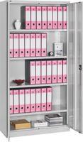 FUTURO Materialschrank 1000x400x2000 mm RAL 7035 - toolster.ch