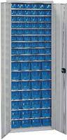 FUTURO Behälterschrank 2025 x 675 x 250 mm - RAL 7035 - toolster.ch