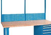 FUTURO Lochplattenwand 2000 x 1000 mm / blau RAL 5015 - toolster.ch