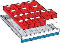 LISTA Einteilungsmaterialsatz 50 / 27x36E / 100.292.000 - toolster.ch