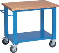 FUTURO Fahrbare Werkbank blau RAL 5015 - toolster.ch