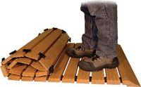 ROPF Sicherheits-Holzlaufrost mit beidseitigem Auffahrkeil 1400 x 700 mm - toolster.ch
