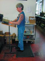 ROPF Arbeitsplatzmatte SBR 600 x 900 - toolster.ch