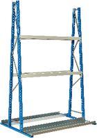 FANAIR Vertikalregal Grundfeld, doppelseitig (HxBxT) 2500x1500x1200 mm - toolster.ch