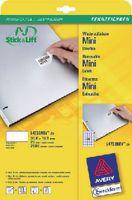 ZWECKFORM Wiederablösbare Etikette Stick & Lift Typ L4732REV, 35.6 x 16.9 mm - toolster.ch