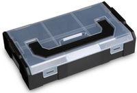 L-BOXX Aufbewahrungsbox schwarz/transparent Mini, 260 x 156 x 63 mm - toolster.ch