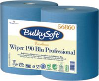 BULKYSOFT Wischtuch Wiper 190 Blu Professional Pack à 2 Rollen, Rolle à 500 Tücher - toolster.ch