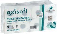 DELTA Toilettenpapier  AXISOFT® Basic Topa Eco 2-250, Pack à 8 Rollen - toolster.ch