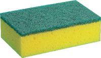 Reinigungsschwamm gelb/grün 150x93x50 / Pack à 10 Stück - toolster.ch