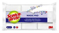 SCOTCH-BRITE Fleckenradierer Magic Pad, Pack à 6 Stück - toolster.ch