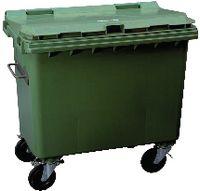 OCHSNER Kunststoffcontainer 770 l - grün - toolster.ch