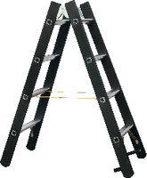 ZARGES Bockleiter 2 x 4 Stufen / 1220 mm - toolster.ch