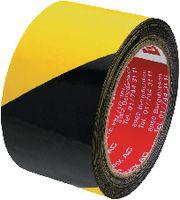tesa® Gewebewarnband  6660 50 mm x 25 m schwarz/gelb - toolster.ch