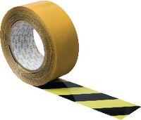 ORGATEX Bodenkennzeichnungsband schwarz/gelb, 38 mm x 50 m - toolster.ch