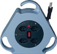STEFFEN Kabelbox 8 m / 4 x T13 / 250V 10A - toolster.ch
