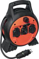 STEFFEN Kabelbox 15 m / 4 x T13 / 250V 10A / IP44 - toolster.ch