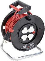 BRENNENSTUHL Kunststoff-Kabelrolle 25 m / 4 x T13 / 230V 10A - toolster.ch