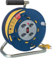 STEFFEN Kunststoff-Kabelrolle 40 m / 4 x T13 / 250V 10A - toolster.ch