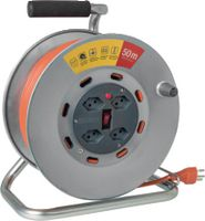 STEFFEN Metall-Kabelrolle 50 m / 4 x T13 / 250V 10A - toolster.ch