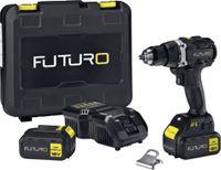 FUTURO Akku-Bohrschrauber 18 Volt, 2 x 4.0 Ah - toolster.ch