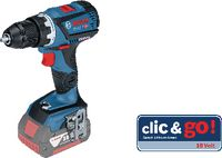 BOSCH Akku-Bohrschrauber click&go 18 V, L-BOXX GSR 18 V-60 C, Solo - toolster.ch