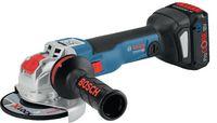 BOSCH Akku-Winkelschleifer  X-LOCK GWX 18V-10 C clic & go + L-Boxx - toolster.ch