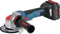 BOSCH Akku-Winkelschleifer  X-LOCK GWX 18V-10 SC clic & go + L-Boxx - toolster.ch