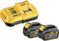 DeWalt Akku-Starterset 54V / XR FlexVolt DCB118T2-QW, 2 x 54 V, 6.0 Ah + DCB 118 - toolster.ch