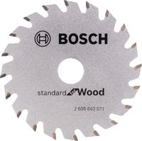 BOSCH Hartmetall-Sägeblatt Optiline Wood Ø 85 x 1.1 x 15 mm / Z20 - toolster.ch