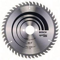 BOSCH Hartmetall-Sägeblatt Optiline Wood Ø 190 x 2.6 x 30 mm / Z48 - toolster.ch