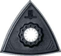 FEIN Schleifplatte dreieckig, Starlock ungelocht, VE=2 63806129220 - toolster.ch