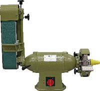 VITAX Universal-Bandschleifmaschine Tischmodell V1-BS1-A-N / 400 V - toolster.ch
