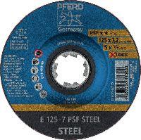 PFERD Schruppscheibe für Stahl 125 x 7.2 (E 125-7 PSF) - toolster.ch