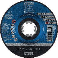 PFERD Schruppscheibe für Stahl 115 x 7.0 (E 115-7 SG) - toolster.ch