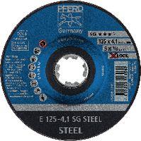 PFERD Schruppscheibe für Stahl 125 x 4.1 (E 125-4,1 SG) - toolster.ch