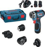 BOSCH Akku-Bohrschrauber L-BOX, 2x2,0Ah GSR 12V-15 Flexi Click - toolster.ch