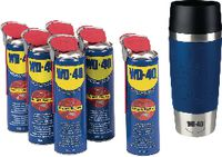 WD-40 Mehrzweck-Kriechöl Promotion-Package 24 x 500 ml mit gratis Thermobecher - toolster.ch