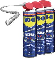 WD-40 Mehrzweck-Kriechöl Flexible Straw 3 x 400 ml Spray - toolster.ch