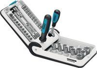 HAZET Jeu de clés à douille Porsche Motorsport Edition 38pièces, 856-1-PD - toolster.ch