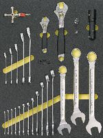 Modul Schraubschlüssel Premium Marken 26-teilig bestückt - toolster.ch