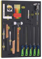 Modul Schlagwerkzeuge/Feilen Premium Marken 19-teilig bestückt - toolster.ch