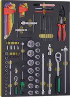 Modul Steck-/ Winkelschlüssel Premium Marken 66-teilig bestückt - toolster.ch