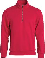 CLIQUE Basic Half Zip  021033 rot S - toolster.ch