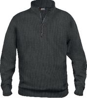 CLIQUE Basic Half Zip  021033 anthrazit meliert M - toolster.ch