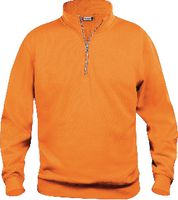 CLIQUE Basic Half Zip  021033 warnschutz-orange L - toolster.ch